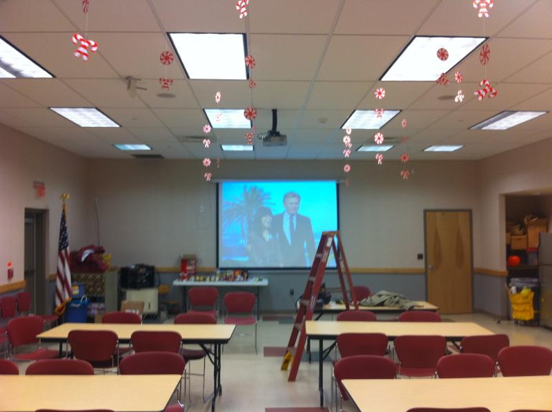 Lower Southampton Township Library Meeting Room A/V Presentation system