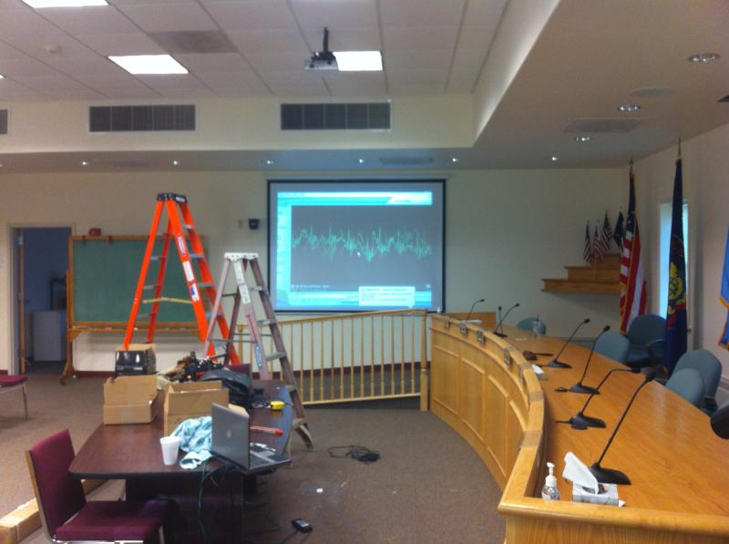 Lower Southampton Township Auditorium A/V presentation system